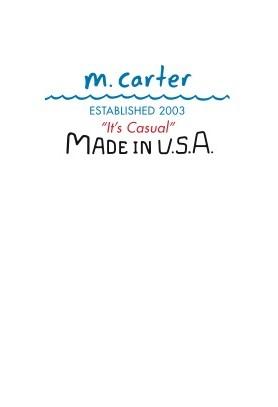 m.carter logo