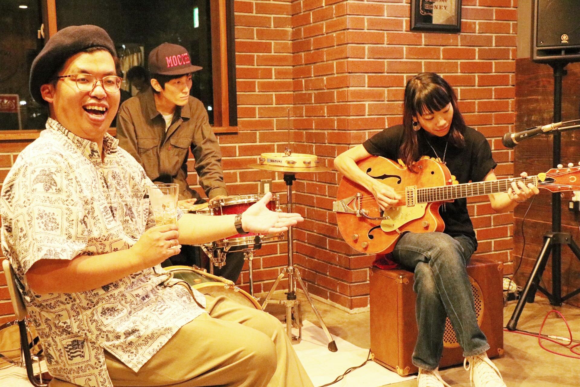 宇都宮 snokey music public house six  モッチェ永井&TENDERLY'S